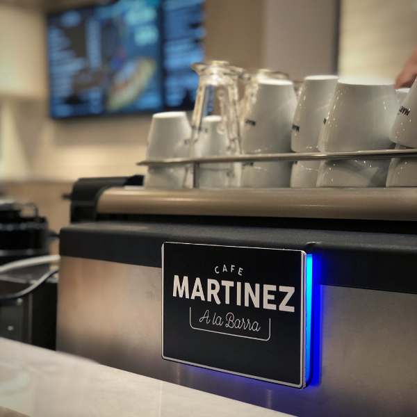 """Café Martínez presenta """"A la Barra"""", un nuevo modelo LOW COST de franquicias"""