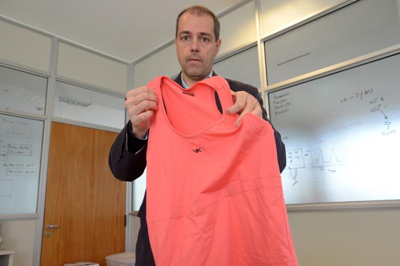 Científicos cordobeses diseñan prendas que previenen la muerte súbita del bebé y controlan el embarazo