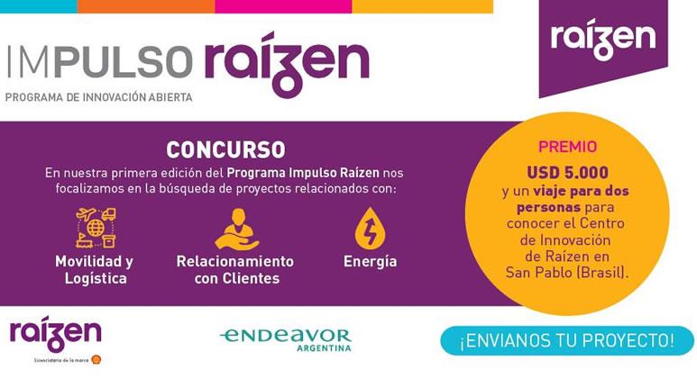 Raízen Argentina lanza un concurso para start ups y emprendedores