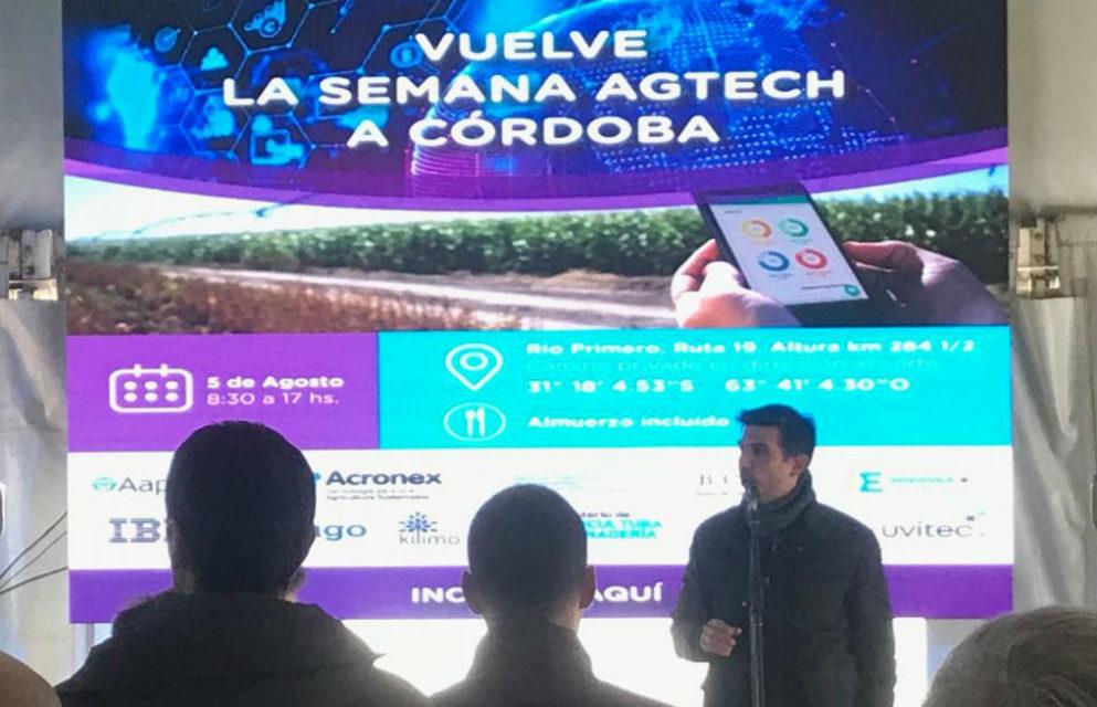 Se desarrolló el Capítulo Córdoba de la Semana AgTech