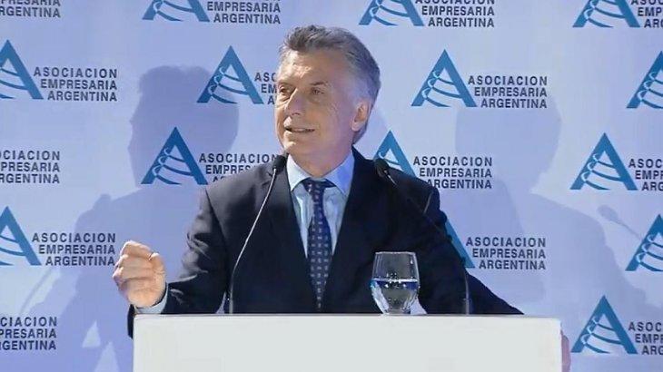 """Macri llamó a los empresarios a defender """"las conquistas sin miedo"""""""