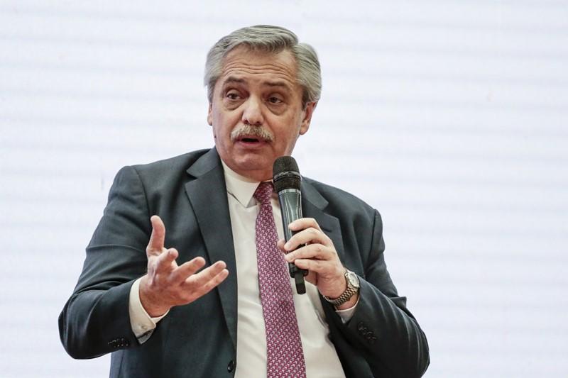 """Alberto Fernández en Córdoba, prometió una """"negociación seria y sensata"""" por la deuda"""