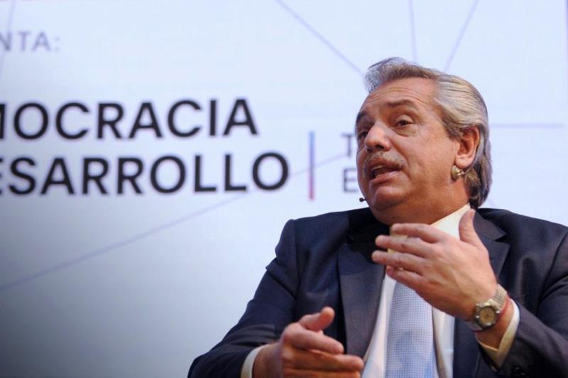 Alberto Fernández disertará en la Fundación Mediterránea