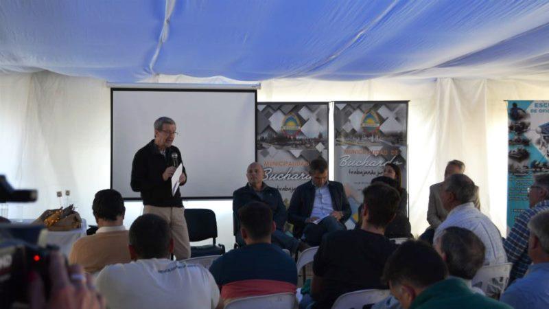 El Ministro Avalle presentó herramientas productivas en el sur provincial