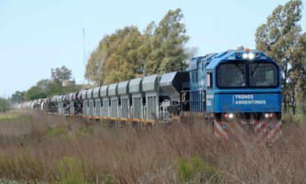 Récord de Trenes Argentinos Cargas, transportó más de 600.000 toneladas en agosto