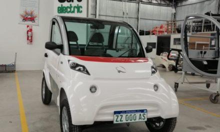Sero Electric: el auto eléctrico argentino estrenó la nueva patente de caracteres verdes