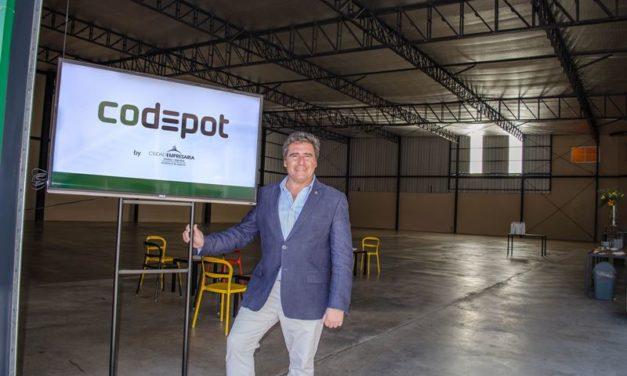 Ciudad Empresaria presentó Co-Depot, un modelo inteligente de contratación temporal de depósito