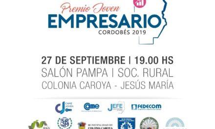 Entrega de Premios Joven Empresario Cordobés