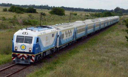 Después de 22 años llegó el tren a Sunchales