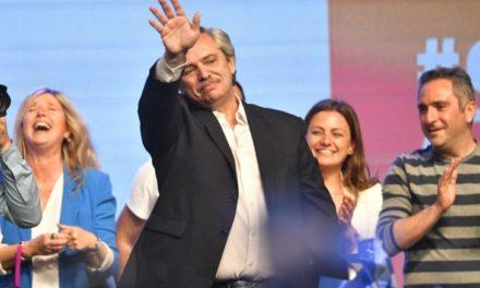 Alberto Fernández ganó en primera vuelta: será el nuevo presidente de los argentinos