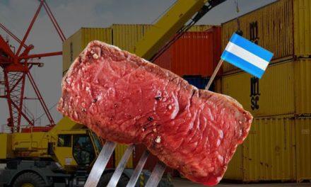 Argentina cerca de alcanzar el récord histórica de exportación de carne al mundo