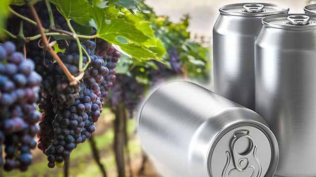 El vino en lata llega a la Argentina