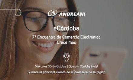 Córdoba: llega el 7° encuentro de eCommerce de la mano de Andreani