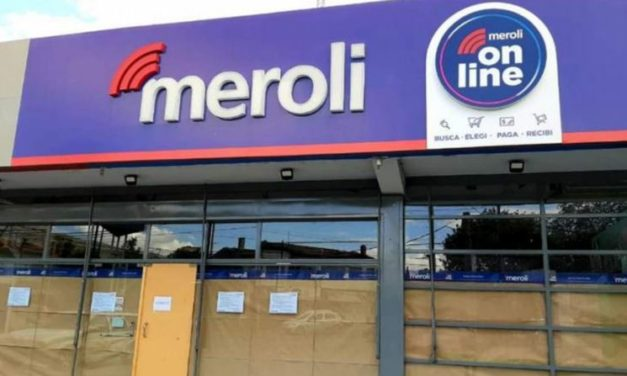 Meroli cerró sus locales y despidió a todos los empleados