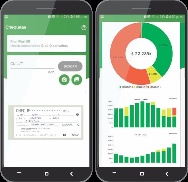 Chequeas la App que evita los rechazos agilizando el análisis de riesgo de tus cobranzas