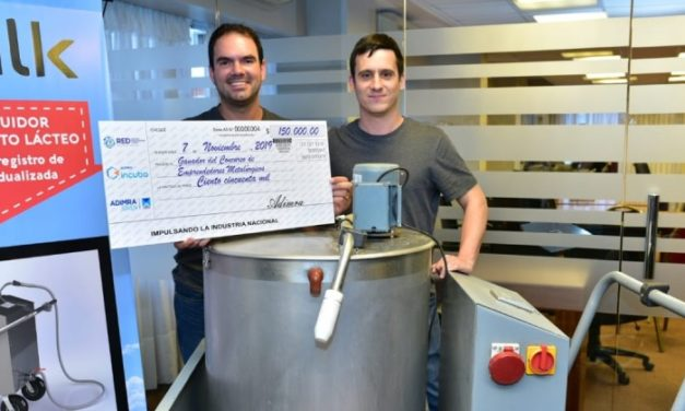 """Industrias Magno ganó el concurso """"Emprendedores Metalúrgicos 2019"""" con el prototipo E-Milk"""