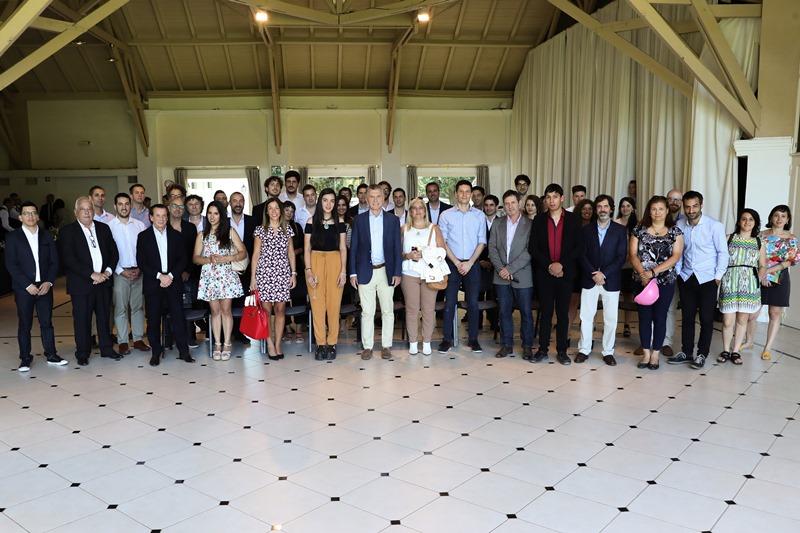 Macri y Sica se reunieron con 30 emprendedores y PyMEs