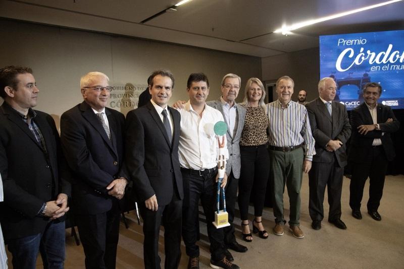 """Se entregaron los """"Premios  Córdoba en el Mundo 2019"""""""