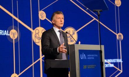 """Macri cerró la 25° conferencia de la UIA: """"Tuvimos dificultades y quedan cosas por resolver"""""""