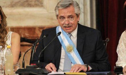 Las principales claves del discurso de Alberto Fernández