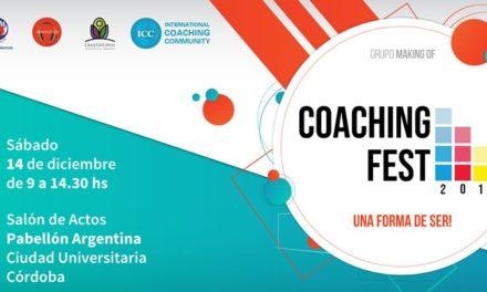 Llega Coaching Fest : ¡Una forma de ser!