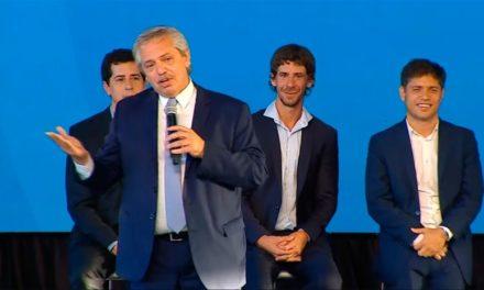 Alberto Fernández lanzó un plan de obra pública y creación de empleo