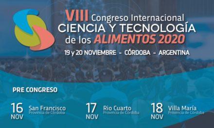 VIII Congreso Internacional de Ciencia y Tecnología de los Alimentos