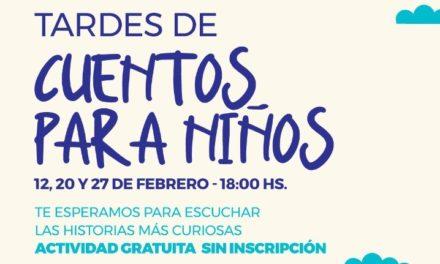 """El Emporio Libro presenta en Villa Allende """"Tardes de cuentos para niños"""""""