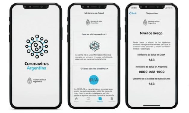 """El Gobierno lanzó la App """"Coronavirus Argentina"""" para evaluar síntomas ante sospechas de contagio"""