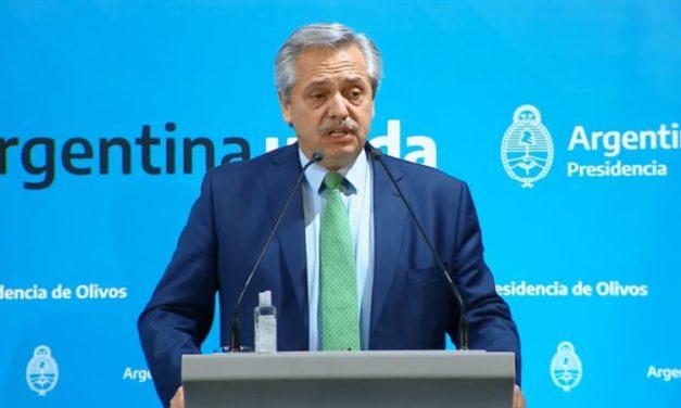Alberto Fernández aseguró medidas para el sector informal y monotributistas
