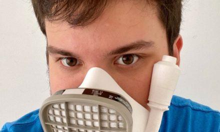 Máscaras y barbijos 3D: el nuevo desarrollo solidario de Gino Tubaro contra el Covid-19