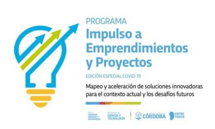Se seleccionaron 30 proyectos del Programa Impulso a Emprendimientos y Proyectos