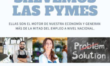 """""""Salvemos las Pymes"""", plataforma de venta diferida para apoyar a las empresas"""