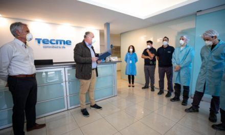 La Provincia otorgó beneficios a la planta industrial TECME S.A.