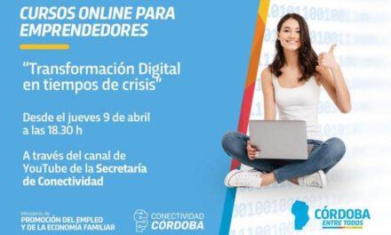 Lanzan cursos online de acompañamiento y formación digital para emprendedores