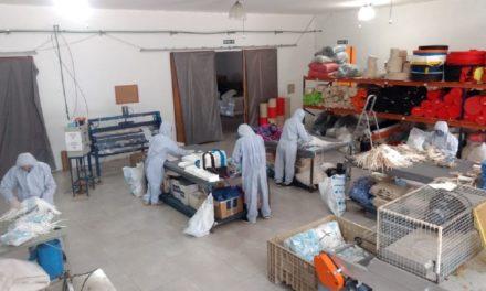 #Reinventarse: La Pyme que en la crisis pasó de fabricar bolsas de tela a barbijos