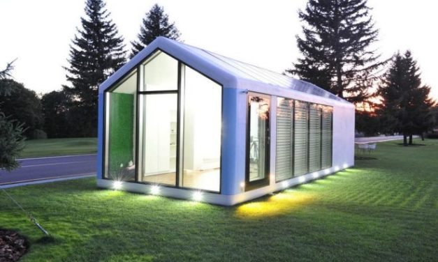 Con paneles solares: así es Haus.Me, la casa prefabricada y sustentable del futuro