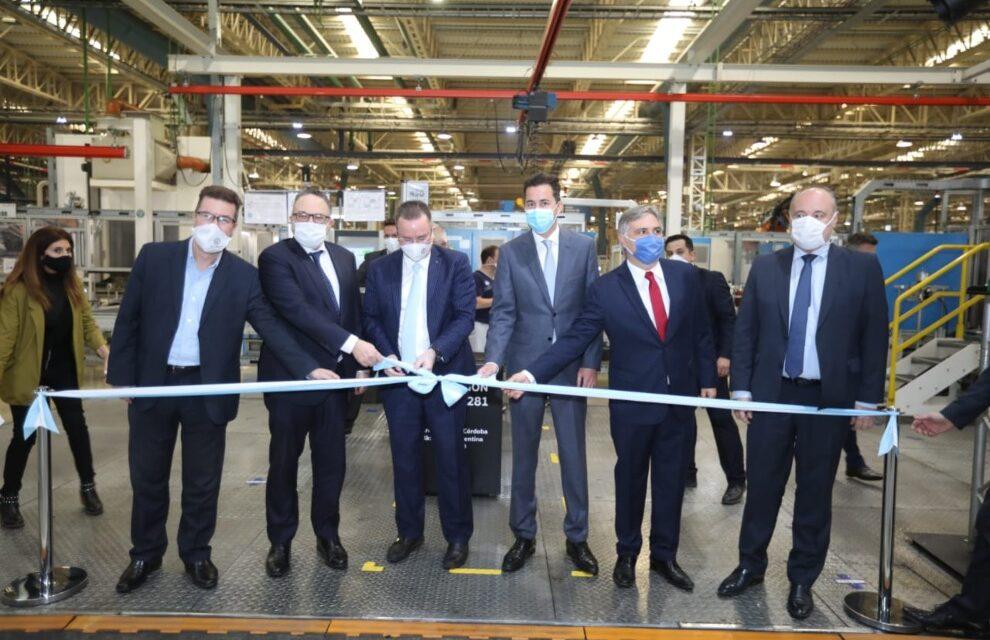 Calvo destacó a Córdoba como centro mundial de producción automotriz