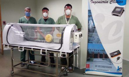 Desarrollan en San Juan una camilla-cápsula transportadora que filtra el coronavirus