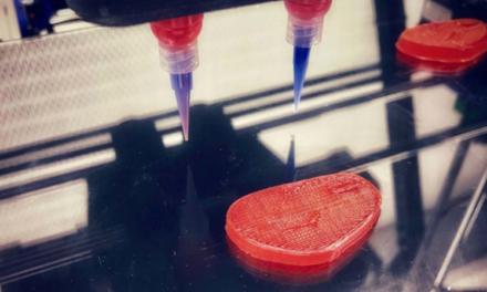 Bife digital: una startup israelí produce carne con una impresora 3D