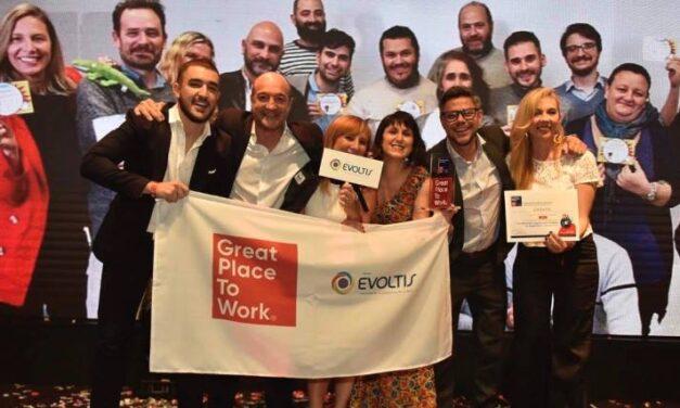 Grupo Evoltis ocupa el 6° puesto de los mejores lugares para trabajar para mujeres en 2020 por Great Place to Work