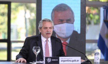 """Fernández planteó un """"plan salida"""" pospandemia, región por región, para potenciar las economías regionales"""