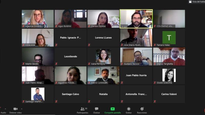 Córdoba Incuba: 12 incubadoras de empresas colaboran y se capacitan