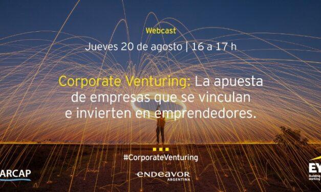Seminario Online: La apuesta de empresas que se vinculan e invierten en emprendedores