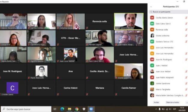 Trabajo colaborativo entre incubadoras de empresas para potenciar el ecosistema emprendedor de Córdoba
