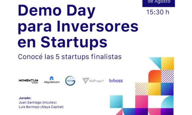 ¿Estás pensando invertir en Startups? – Sumate al Demo day de Pitch Up!