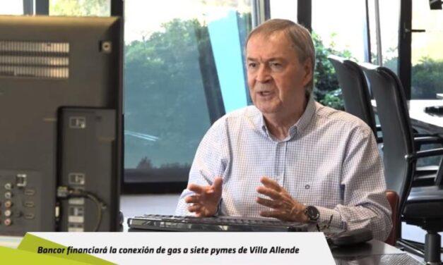 Bancor financiará la conexión de gas a siete pymes de Villa Allende