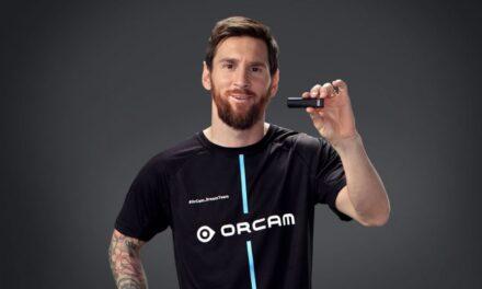 Lionel Messi firmó un acuerdo de cooperación con una start-up israelí que desarrolló un método para ciegos