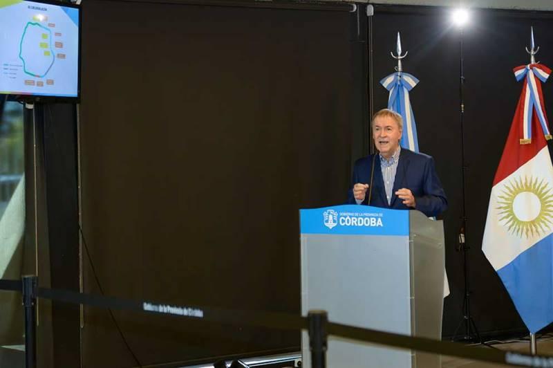 Schiaretti anunció la continuación de las obras del tercer carril de la Circunvalación, con una inversión de 1.800 millones de pesos