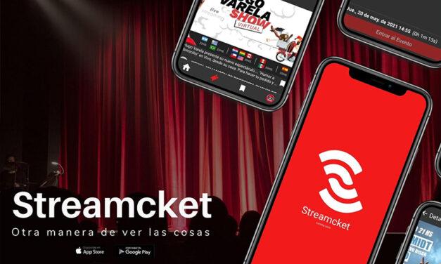 """Rosarinos crearon """"Streamcket"""", la primera app pensada para ver shows en vivo en streaming"""
